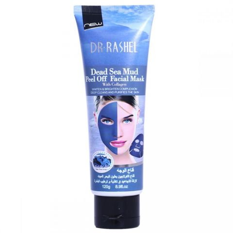 Dr. Rashel Dead Sea Mud Peel off Mask with Collagen for Face, 120 gm