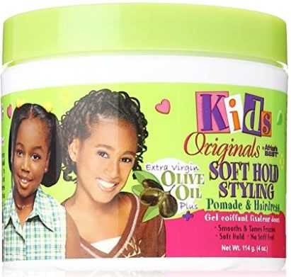 Africa's Best Kids Organics Soft Hold Styling Pomade & Hairdress, 4oz (114g)