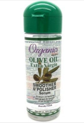 Africa's Best Olive Oil Extra Virgin Smoother & Polisher Serum, 6oz (177ml)